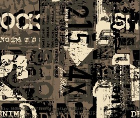 Fashion grunge background vector