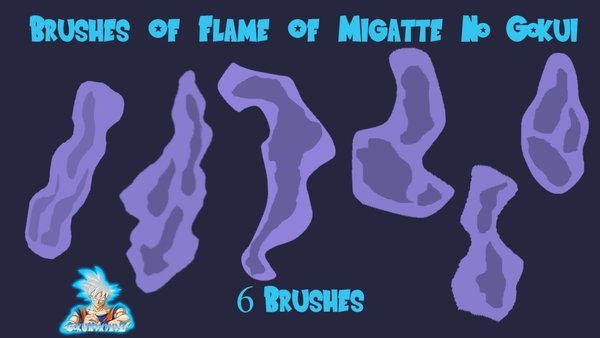 Flame Of Migatte Photoshop Brushes