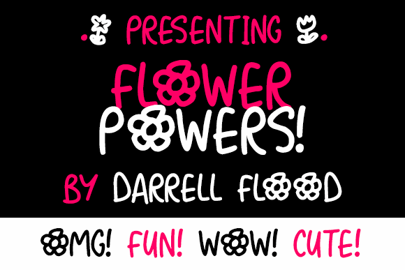 Flower Powers fonts