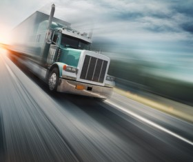 Freight truck Stock Photo 01