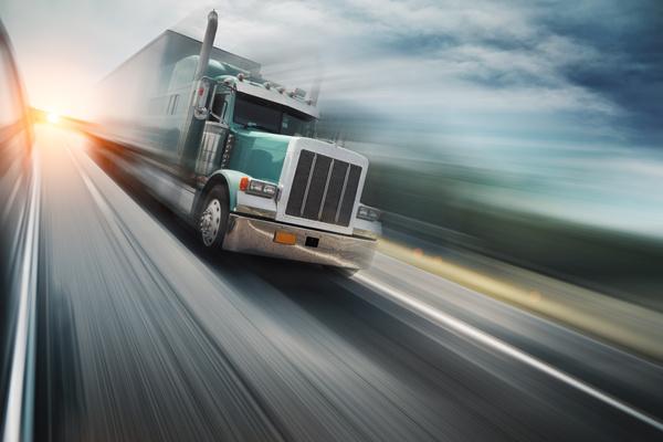 Freight truck Stock Photo 01