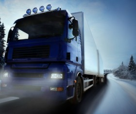 Freight truck Stock Photo 02