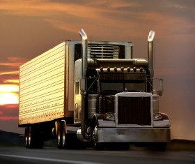 Freight truck Stock Photo 03