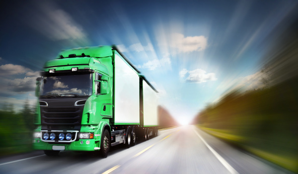 Freight truck Stock Photo 04