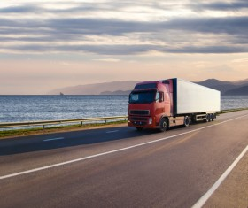Freight truck Stock Photo 05