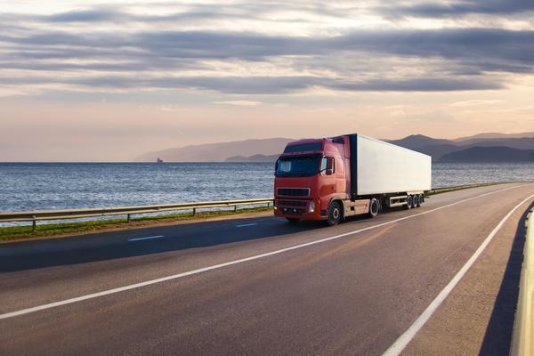 Freight truck Stock Photo 05