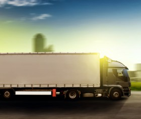 Freight truck Stock Photo 06