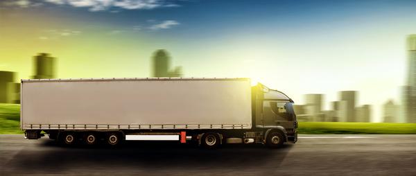 Freight truck Stock Photo 06