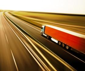 Freight truck Stock Photo 08