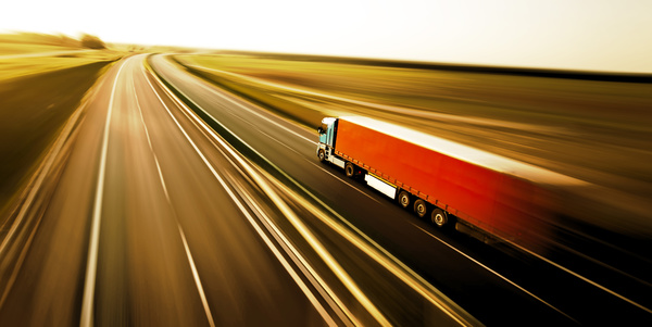 Freight truck Stock Photo 08