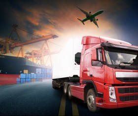 Freight truck Stock Photo 09