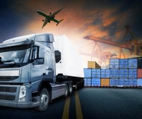 Freight truck Stock Photo 10