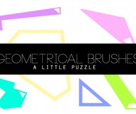 Geometrical HD Photoshop Brushes