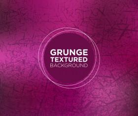 Grunge textured background vector 02