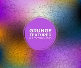 Grunge textured background vector 03