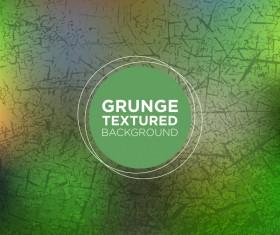 Grunge textured background vector 04