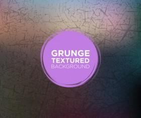 Grunge textured background vector 05