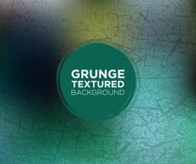 Grunge textured background vector 07