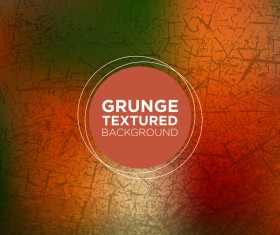 Grunge textured background vector 08