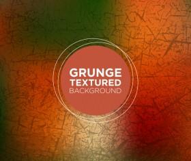 Grunge textured background vector 08