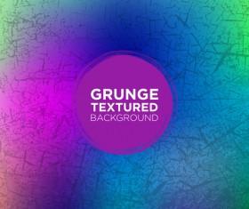 Grunge textured background vector 09