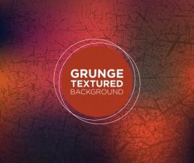 Grunge textured background vector 10