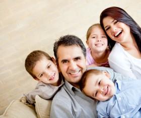 Happy lifes family Stock Photo 01