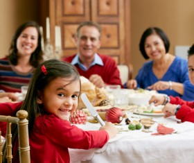 Happy lifes family Stock Photo 02