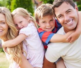 Happy lifes family Stock Photo 04