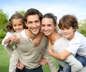 Happy lifes family Stock Photo 05