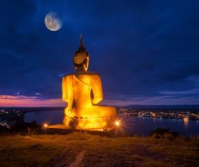 Laos Buddha Stock Photo