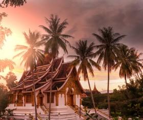 Laos Temple Stock Photo 01