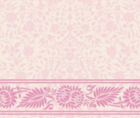 Light color decor pattern vector design 01