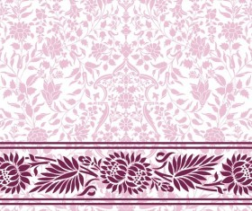 Light color decor pattern vector design 02