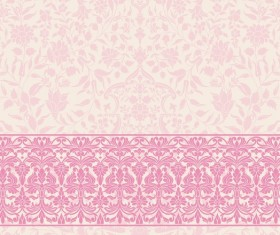 Light color decor pattern vector design 03
