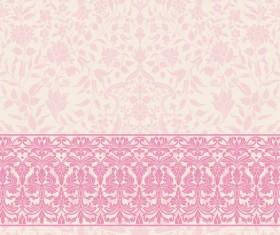Light color decor pattern vector design 03