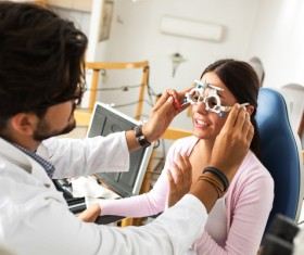Medical optometry Stock Photo 03