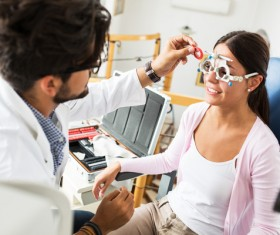 Medical optometry Stock Photo 09