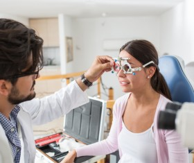 Medical optometry Stock Photo 11