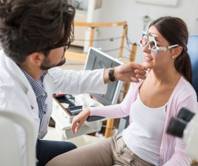 Medical optometry Stock Photo 13