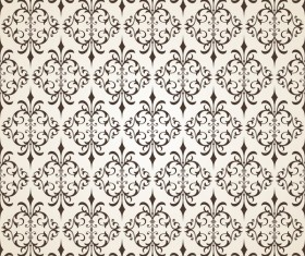 Ornate seamless pattern ornaments vector 05
