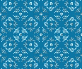 Ornate seamless pattern ornaments vector 07
