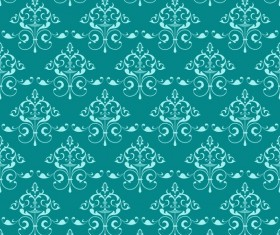 Ornate seamless pattern ornaments vector 08