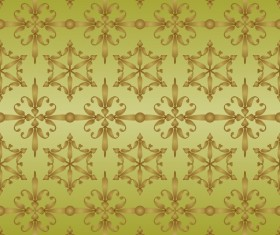 Ornate seamless pattern ornaments vector 10
