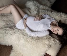 Photo of pregnant woman Stock Photo 05