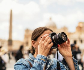 Photographed by Tourist Stock Photo 01