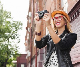 Photographed by Tourist Stock Photo 03