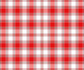 Plaid pattern design vector 04