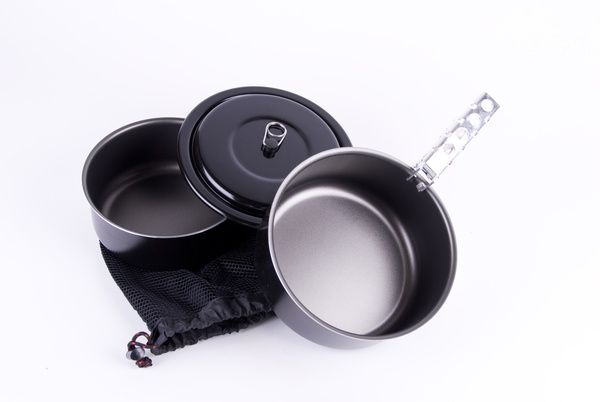 Portable cookware Stock Photo