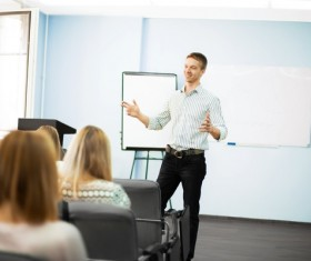 Product introduction meeting Stock Photo 02